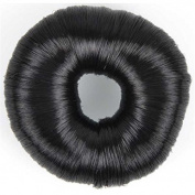 Solida Bun Ring with Faux 7.8 cm dark Ideal for Fine Hair