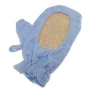 MagiDeal Natural Loofah Bath Shower Sponge Glove Brush Skin Spa Back Washing Exfoliator Pad Scrubber Blue