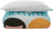frikids Happy Together – Duvet Cover Bed 90 blue