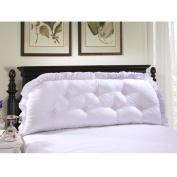 Bedside Backrest Detachable All cotton Bedside Cushions Pillow