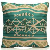 SWIDUUK Pillow Case Fashion Vintage Cotton Linen Cushion Cover Sofa Throw Car Waist Home Decor