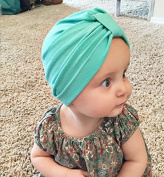 Kingken Soft Cloth Beanie Cap Hat for Baby Girl