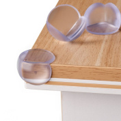 Premium edge and corner protection by Almadoo - Child safety locks made from tested plastic - High-quality corner protectors for table and furniture