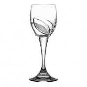 Clear Crystal Aljulia 05060 Wine 150 ml, 7 x 7 x 18 cm 6 Units