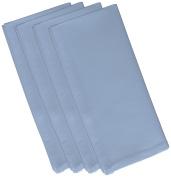E by design 48cm x 48cm , Solid Print Napkin, Light Blue