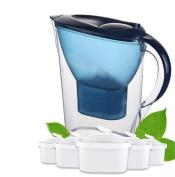ZTYR Water Filter Jug Household water bottle straight drink wholesale kitchen water purifier filter kettle filter type filter pot