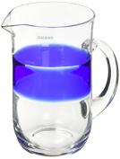 galbiati Milano TH102 Jug, Transparent/Blue
