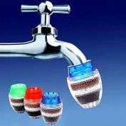 Zantec Tap Water Filter Purifier Coconut Carbon Home Kitchen Restaurant Faucet Tap Multi Layers Water Clean Purifier Filter Cartridge 1pcs