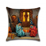 YanHoo Halloween series Square Pillow Cover Cushion Case Pillowcase Zipper Closure