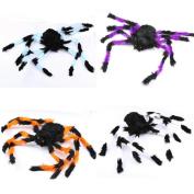 YanHoo Multicolor Spider Halloween Party Haunted House Decoration Prop