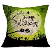 YanHoo Halloween Pillow Case Sofa Waist Throw Cushion Cover Home Decor