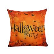 YanHoo Halloween Sofa Bed Home Decor Pillow Case Cushion Cover