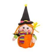 YanHoo Plush Pumpkin Girl Dolls Children Toy Halloween Birthday Gift Home Decor