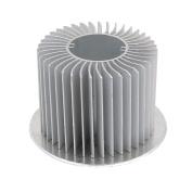 sourcingmap® Aluminium Heat Diffuser Heatsink Radiator Cooling Fin 60mm Dia for Led Lamp
