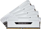 Corsair CMR32GX4M4C3000C15W Vengeance RGB 32GB (2x16GB) DDR4 3000MHz C15 XMP 2.0 Enthusiast RGB LED Illuminated Memory Kit - White