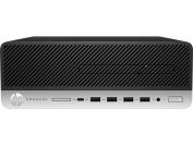 HP ProDesk 600 G3 - SFF - 1 x Core i3 6100 / 3.7 GHz - RAM 4 GB - HDD 500 GB - HD Graphics 530 - GigE - Win 7 Pro 64-bit
