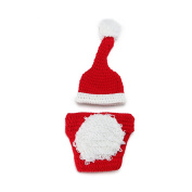 Tinksky Baby Photo Prop Outfit Christmas Knitting Crochet Clothes for 2-9 Months Boys Girls