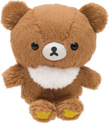 San-X Rilakkuma MR81101 Small Plush Doll Brown Child Bear Chairoikoguma