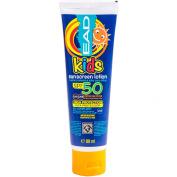 High Protection Kids SPF Factor 50 Sun Cream - Children's 88ml Screen Lotion Block