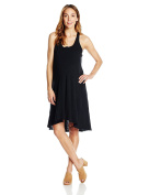Maternal America womens Hi-lo Maternity Dress sleeveless Maternity Dress