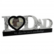 Juliana MDF Mantel Photo Frame - ' I Love Dad'