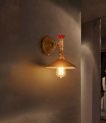 wall sconces loft retro industrial wind wall lamp iron water pipe single head Nordic creative personality restaurant American bar lamps sconces