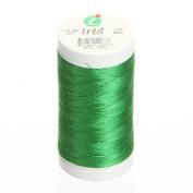 Iris Threads 60006-1077 Iris Polyester Machine Embroidery Thread, 600 yd, Kelly Green