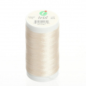 Iris Threads 60006-1170 Iris Polyester Machine Embroidery Thread, 600 yd, Ivory Coast