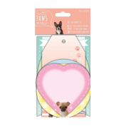 Paws for Thought Papermania Pet Paper Craft Collection - Die-cut Notelets x18
