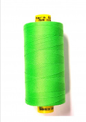 Gütermann Mara 50 Jeans Quilt Thread 500 m Roll Neon Green 3853