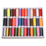 39 Assorted Colours Polyester Sewing Threads