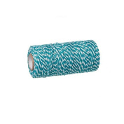 creafirm – Baker's Twine 100 m Spool String Blue and White