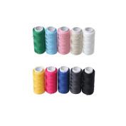 creafirm – 10 Multi Coloured Sewing Thread Spools