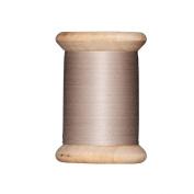 Tilda Wooden Spool Sewing Thread 400m Dark Beige - per spool