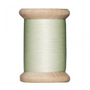 Tilda Wooden Spool Sewing Thread 400m Green - per spool