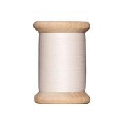 Tilda Wooden Spool Sewing Thread 400m Light Beige - per spool