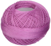 Handy Hands 210-Yard Lizbeth Cotton Thread, 25gm, Light Raspberry Pink