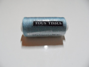 Spool of 100% Polyester Sewing Thread, 500 Metres, Sky Blue