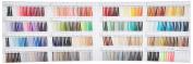 FUJIX (Fujix) King polyester sewing thread swatch book