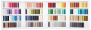 FUJIX (Fujix) King polyester woolly S sewing thread swatch book