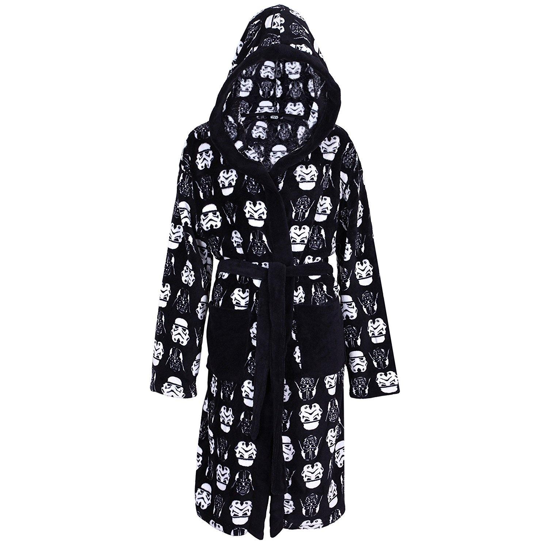 Disney -:- Star Wars Men\'s Soft Fleece, Hooded Dressing Gown, Robe ...