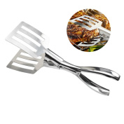 Stainless Steel BBQ Clip Kitchen Cooking Food Serving Utensil Tong by Tonsee