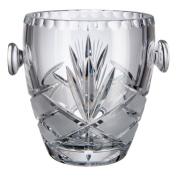 Bohemia Crystal Azalea Ice Bucket, Glass, 13 x 13 x 14 cm