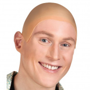 Niceyo Rubber Bald Wig for Men or Women in Fancy Dress Cosplay Gift Party