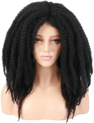 Golden Rule Afro Curly Wigs Natural Looking Synthetic Hair Wig for Black Women Heat Resistant Fibre Women Wig