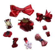 Angie La child Ornaments baby Headdress Hair ornaments Hairpin Deduction