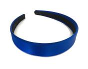 2.5 cms Wide Satin Headband Hair band Alice Band Flexible