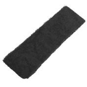 Fostly Soft Sports Headband Elastic HairBand Hair Ornaments For Yoga Jogging 3 Pcs Black