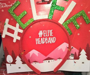 Santa Elf Headband elfie alphabetical Christmas