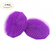 FIDGET DICE Shampoo Brush Shower Brush Hairdressing Scalp Circular Massage Brush